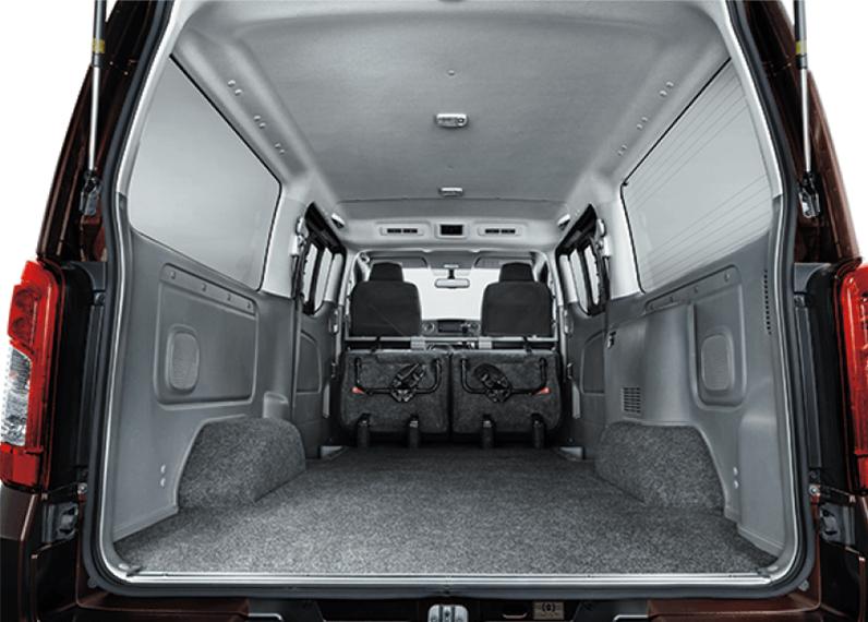 小型貨物車4ナンバーバンクラスでNo.1*の荷室広さ。 slider画像01
