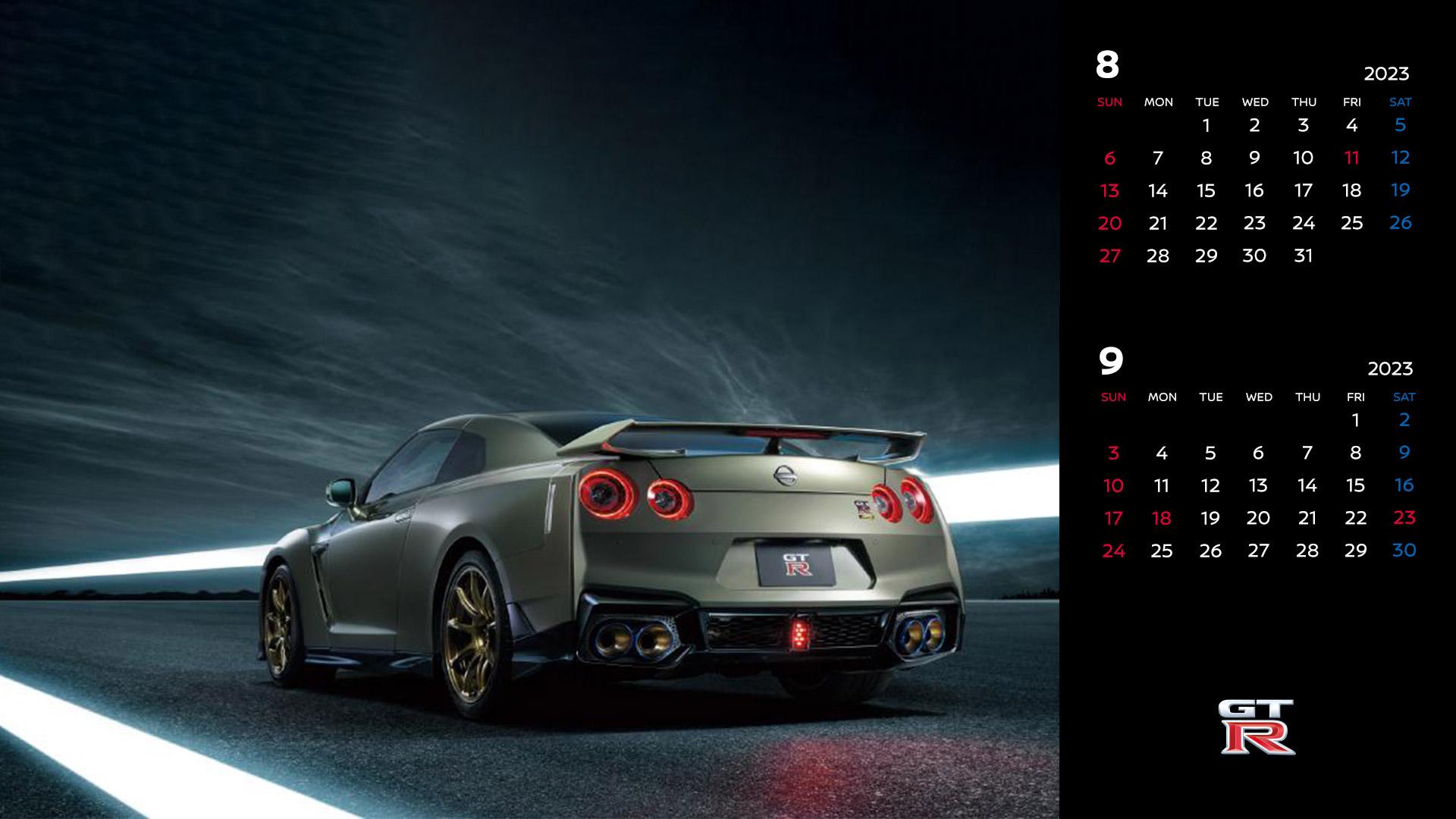 日産:人気車種カレンダー