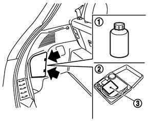 タイヤ パンク 応急 修理 キット