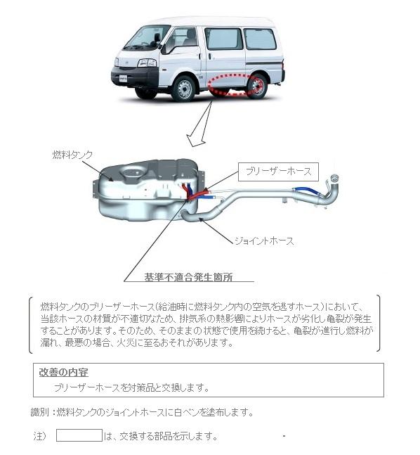 ハイエース リコール トヨタ